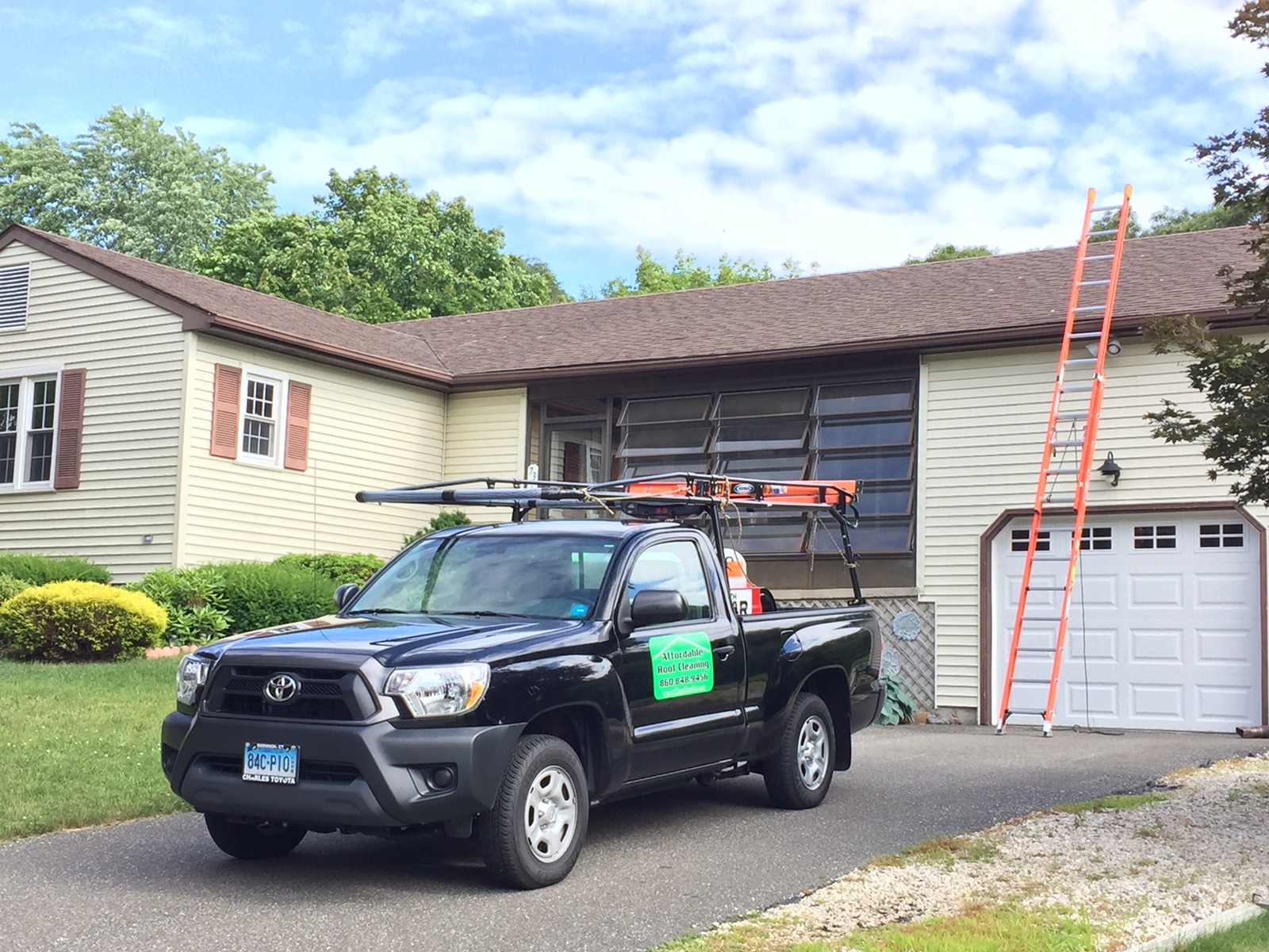 Affordable Roof Cleaning Truck